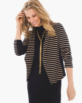 Chico's Sienna Striped Blazer