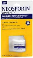Neosporin Lip Health Overnight Renewal Therapy White Petrolatum Lip Protectant