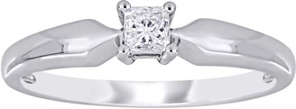 Stella Grace 10k White Gold 1/5 Carat T.W. Diamond Solitaire Engagement Ring