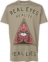 Givenchy Columbian-fit slogan print T-shirt - men - Cotton - XS
