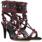 Isabel Marant Abrily embellished leather sandals