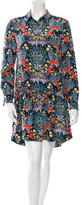 Marc by Marc Jacobs Silk Floral Shirtdress