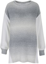 Amanda Wakeley Concerto White Degrade Knit Top