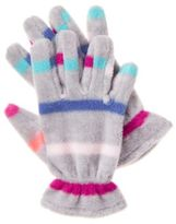 Crazy 8 Stripe Microfleece Gloves