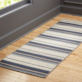 CB2 The Hill-Side workwear blanket stripe runner 2.5'x8'