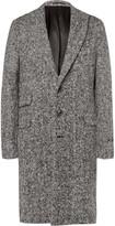 Michael Bastian - Herringbone Brushed Virgin Wool Coat