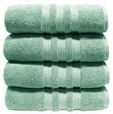 "Hotel Luxury Reserve Collection 100% Cotton Luxury Bath Towel - 30"" x 58"" - Light Blue"