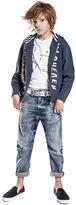 KIDS DieselTM Sweatshirts KYACW - Blue - 10Y