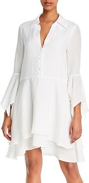 Alice + Olivia Priscilla Button-Down Shirtdress