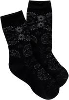Smartwool Dahlia Dream Crew Cuts Socks