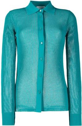 Bottega Veneta Crystal-Embellished Shirt
