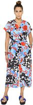 Marina Rinaldi Stella Jean Print Cady Cropped Jumpsuit