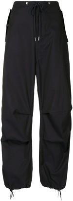 Dion Lee Parachute drawstring-waist trousers