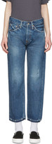 Chimala Blue Selvedge Used Ankle Cut Jeans