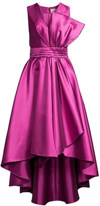Sachin + Babi Finely Ruffle High-Low Dress