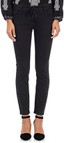 Nili Lotan Women's Lace-Up Jeans-BLACK
