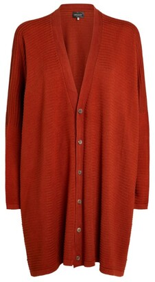 eskandar Silk Ribbed Cardigan