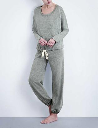 Eberjey Heather jersey pyjama top