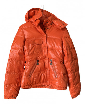 Moncler Classic Orange Synthetic Jackets