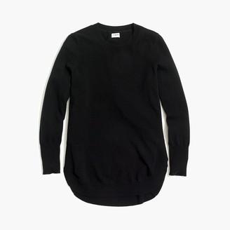J.Crew Wool-blend tunic sweater