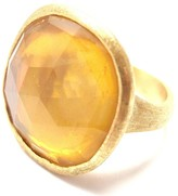Marco Bicego 18K Yellow Gold with Citrine Ring Size 4