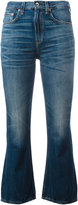 Rag & Bone cropped kick flare jeans - women - Cotton - 24