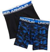 Under Armour Boy's Original Blur 2-Pack Boxer Briefs