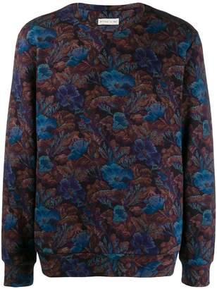 Etro floral patterned sweatshirt