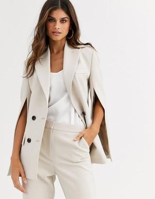 ASOS DESIGN split sleeve suit blazer