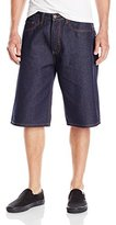 "Rocawear Men's ""R"" Flap Denim Short"