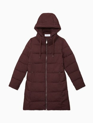 Calvin Klein Quilted Heavy Weight Full Zip Hooded Jacket