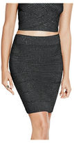 G by Guess GByGUESS Women's Joelle Bandage Skirt