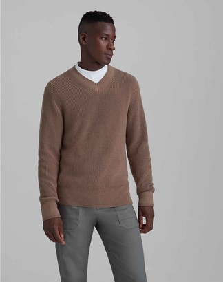 Club Monaco Wool Blend V-Neck Sweater