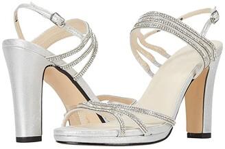 Touch Ups Elizabeth (Silver) Women's Shoes