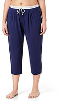 DKNY Plus Colorblocked Lounge Capri Pants