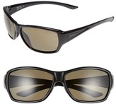Smith Optics Women's 'Purist' 59Mm Polarized Sunglasses - Black/ Polarized Grey Green