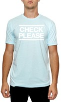 Kid Dangerous Men's Check Please Graphic T-Shirt