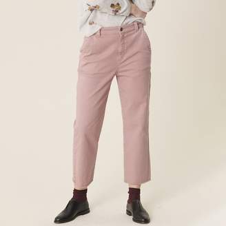 "Harris Wilson Nollan Wide Leg Jeans, Length 24"""