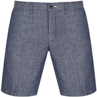 Gant Chambray Shorts Navy