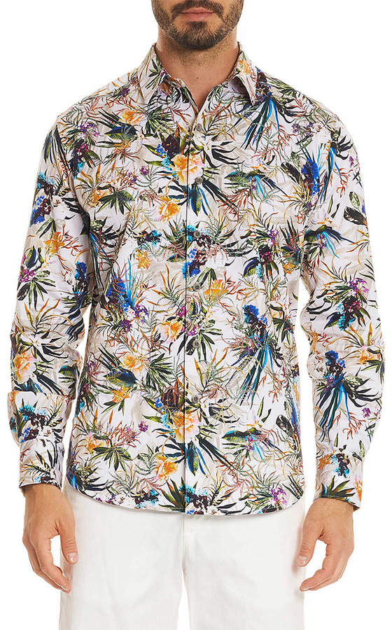Robert Graham Botanic Classic Fit Woven