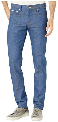 Naked & Famous Denim Super Guy - Island Blue Stretch Selvedge Jeans (Island Blue Stretch Selvedge) Men's Jeans