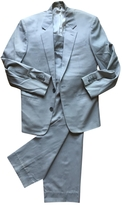 Louis Vuitton Grey Cotton Suit