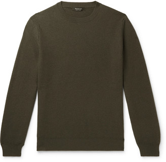 Ermenegildo Zegna Textured-Cashmere Sweater