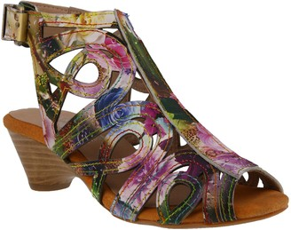 Spring Step L'Artiste by Leather Sandals - Flourisha