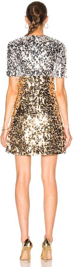 Dolce & Gabbana Paillettes Mini Dress