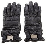 Moncler Quilted Leather Gloves