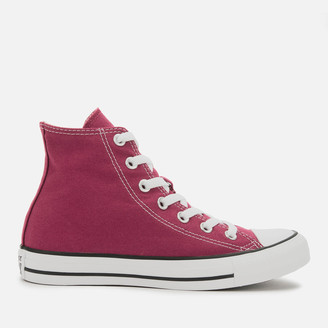 Converse Chuck Taylor All Star Seasonal Hi-Top Trainers - Maroon