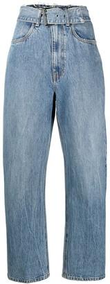 Alexander Wang Belted Waist Jeans