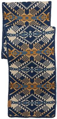 Pendleton Knit Muffler (Journey West Navy) Scarves