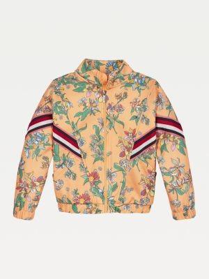 Tommy Hilfiger Floral Print Zip-Thru Jacket